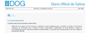 Subvenciones para comercios de Galicia