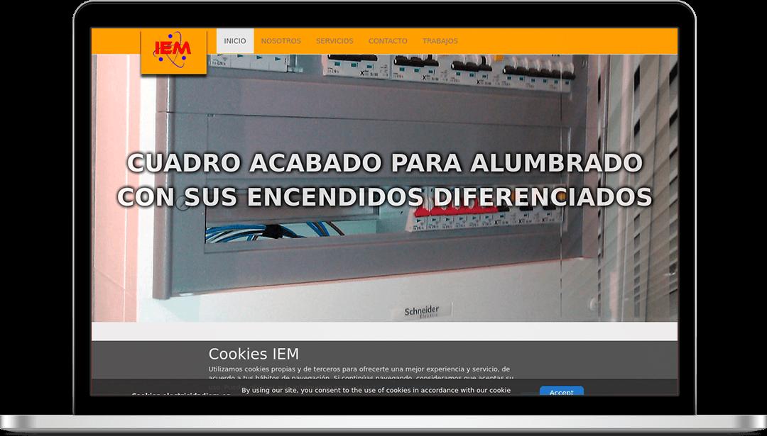 Web Electricidad IEM