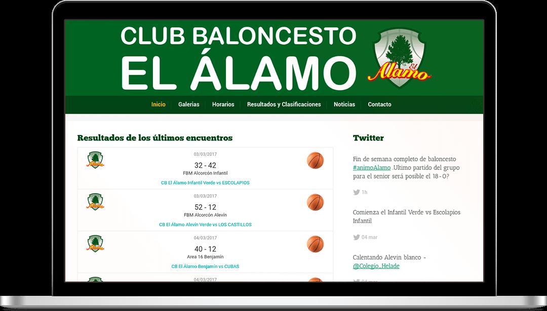 Trabajo Club Baloncesto El Álamo