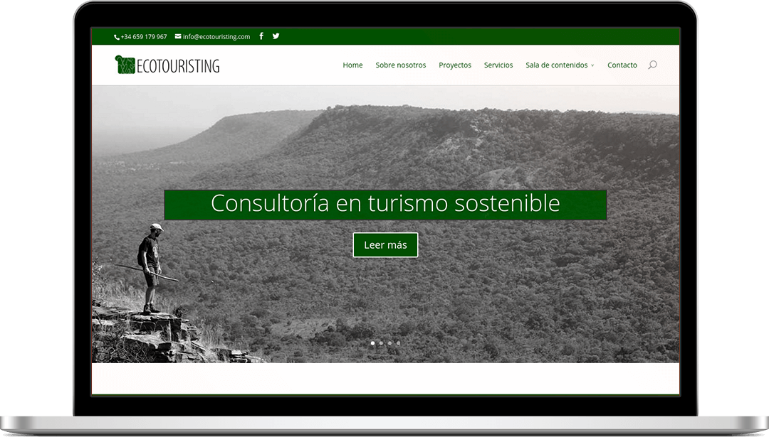 Web Ecotouristing